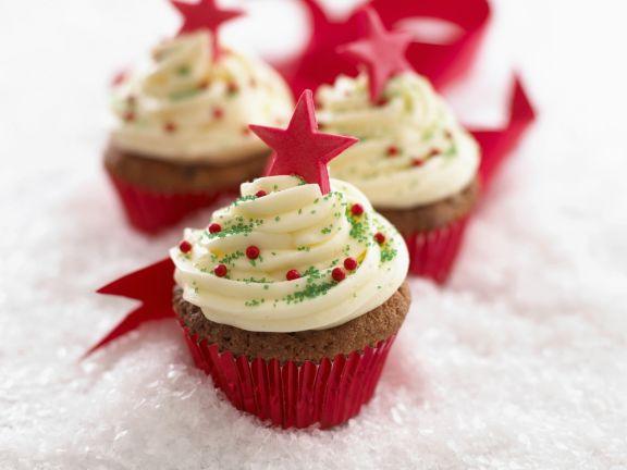 Cupcakes zu Weihnachten